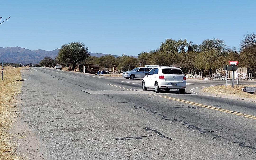 Ruta 38: Solicitamos conocer el estado de obra de la repavimentación y la construcción de un acceso seguro a San Marcos Sierras